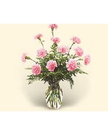 Pink Surprise Flower Arrangement