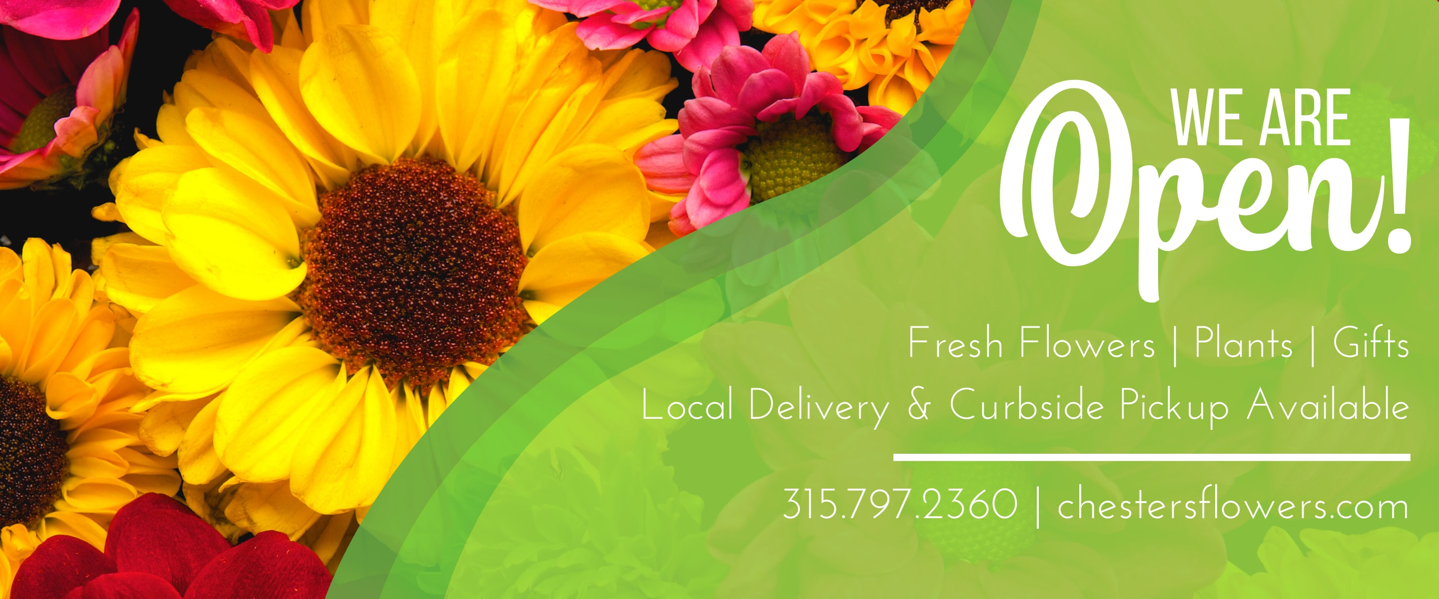 Flower Delivery to Utica by Chester's Flower Shop And Greenhouses