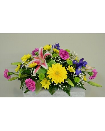 Easter Centerpiece Flower Arrangement