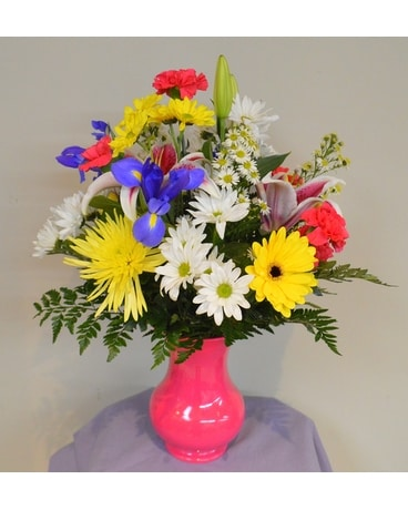 Springtime Flower Arrangement