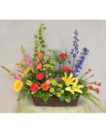 Summer Sizzle - Deluxe Flower Arrangement