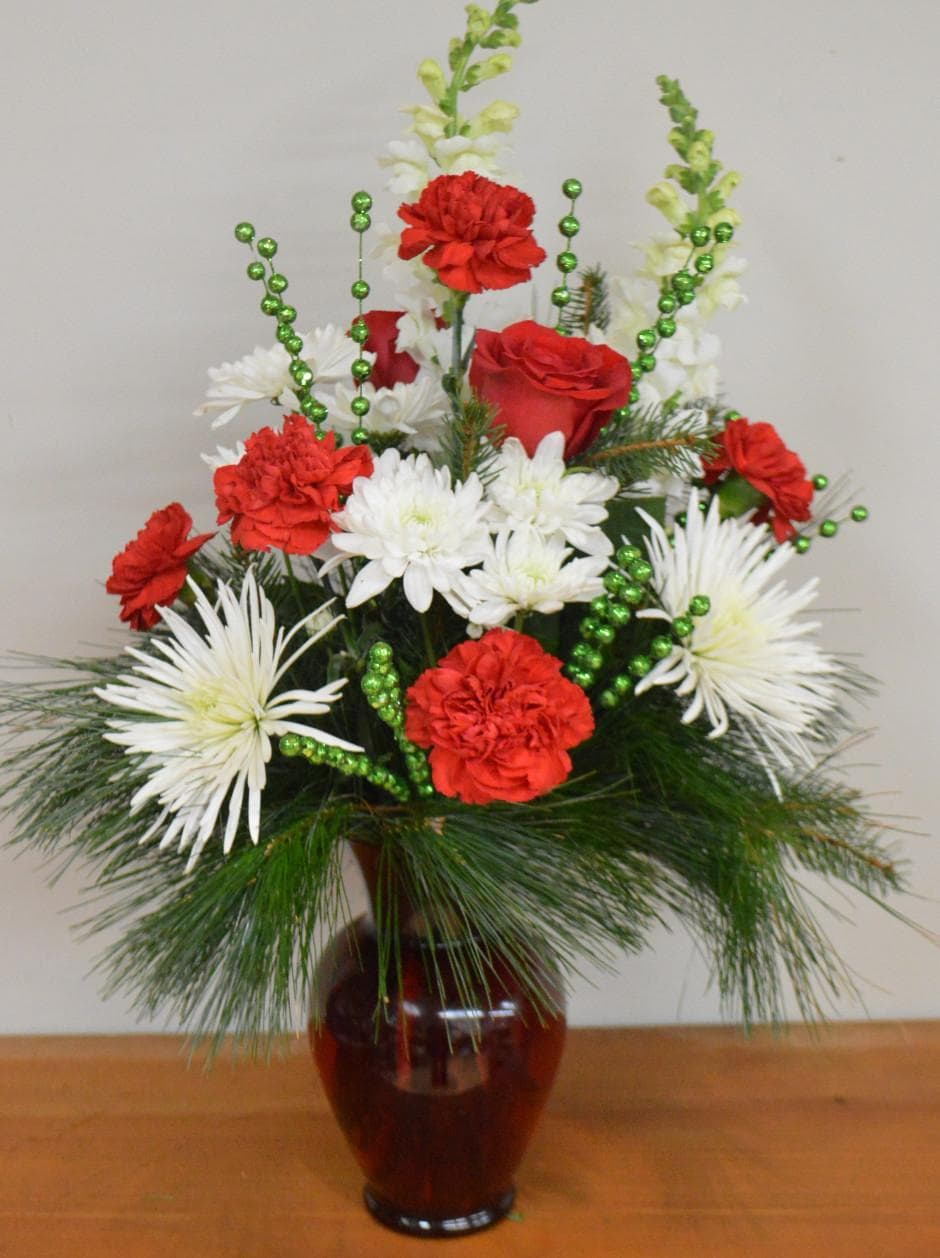 Christmas Splendor Flower Arrangement