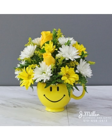 You Make Me Smile Bouquet Be Happy In Oakland Ca J Miller
