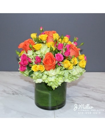 Blossoms in Vogue Flower Arrangement