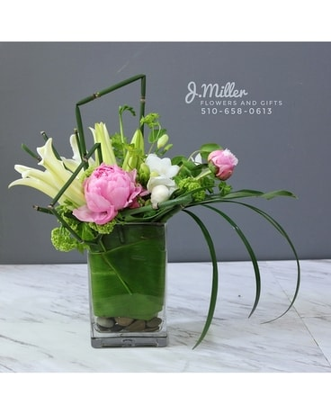 Peony Perfection Flower Arrangement