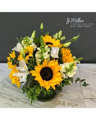 Sunflower Smiles Flower Arrangement