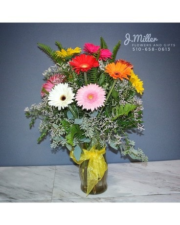Glorious Gerberas Flower Arrangement