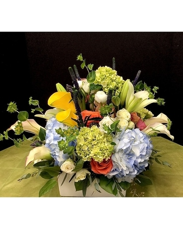 Box of Beauty Flower Arrangement