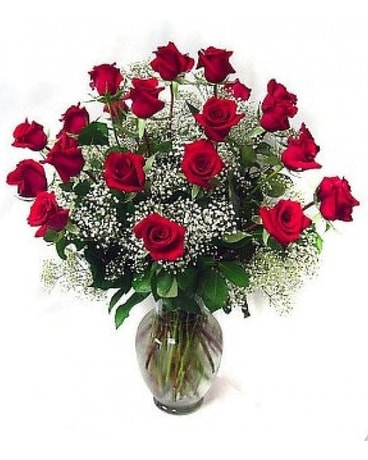 Two Dozen Classic Roses Flower Arrangement