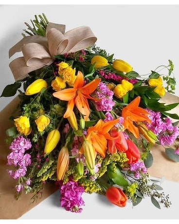 Hand Picked Fresh Flower Bouquet Flower Arrangement