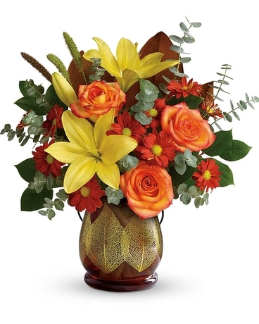 Citrus Harvest Bouquet Flower Arrangement