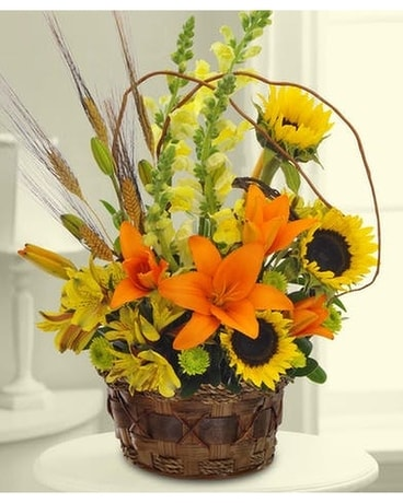 Garden Blooms Autumn Bouquet Flower Arrangement