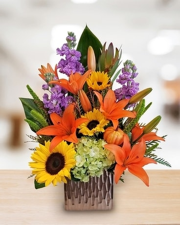 Sunrise Delight Flower Arrangement