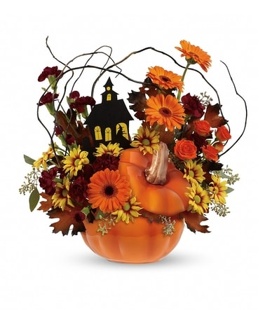 The Haunted House Bouquet Flower Arrangement