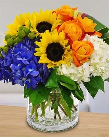 Sunshine Kiss Bouquet
