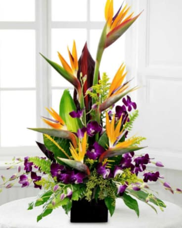 Exotic Enchantment Flower Arrangement