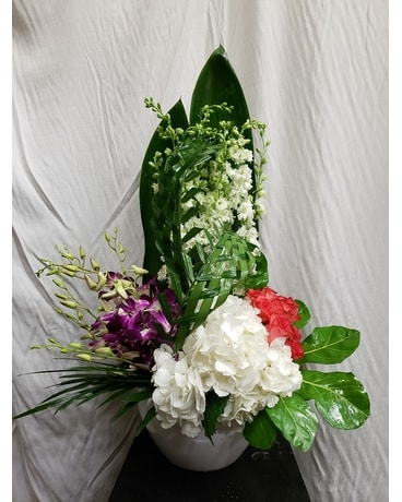Zen Oasis Flower Arrangement