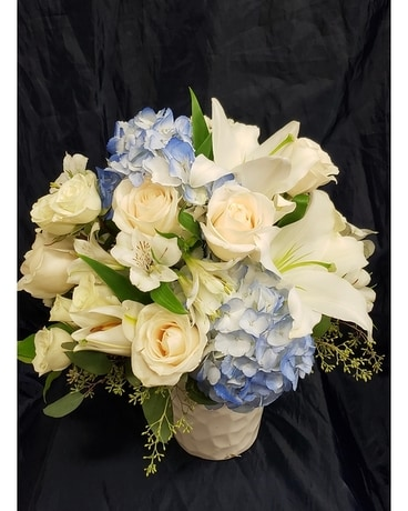Blue Serenity Flower Arrangement