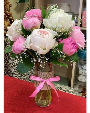 Picture Perfect Peonies Flower Arrangement