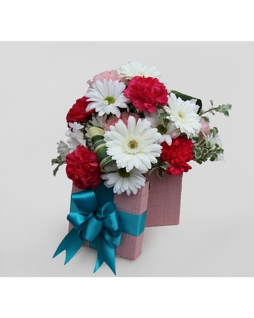 Blue-ming Love Flower Arrangement