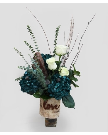 Wood You Be Mine Flower Arrangement
