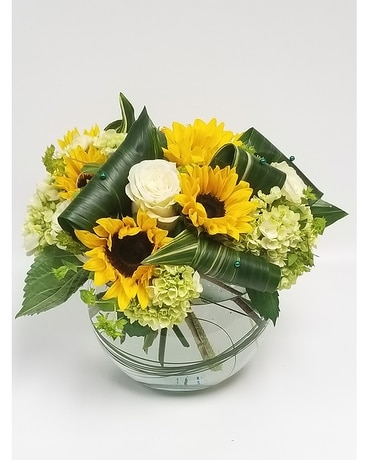 sunflowers rock Flower Arrangement