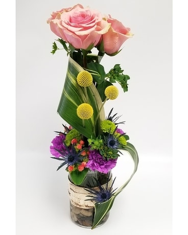 Twist and Shout Flower Arrangement