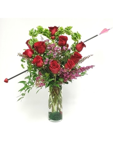 Cupids Arrow Flower Arrangement