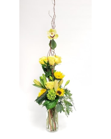 Sunshine Kisses Flower Arrangement