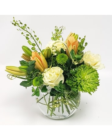 Green Splendor Flower Arrangement