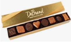 DeBrand 8 Pc Gourmet Chocolate Assortment