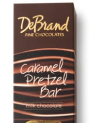 DeBrand Pretzel Chocolate Bar