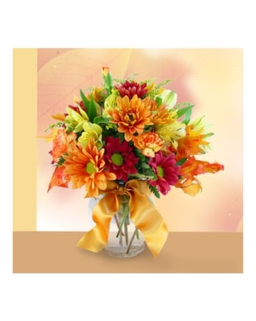 Simply Fall Bouquet Flower Arrangement