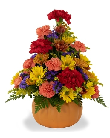 Fall Harvest Bouquet Flower Arrangement
