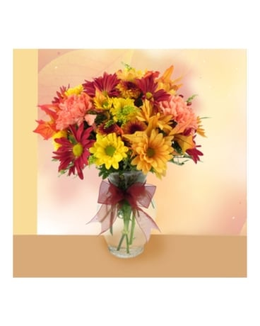 Autumn Breeze Flower Arrangement