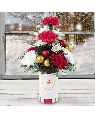 Frosty Fun Flower Arrangement