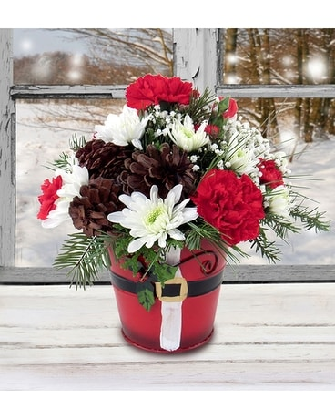 Jingle Bell Time Flower Arrangement