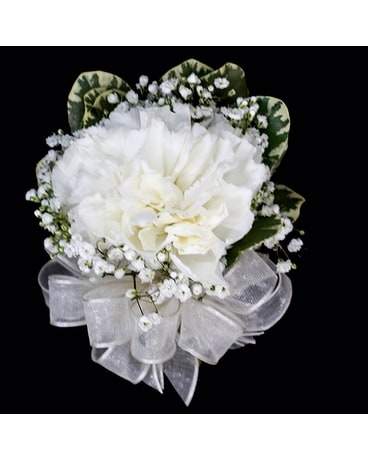 Single Carnation Pin On Corsage Corsage
