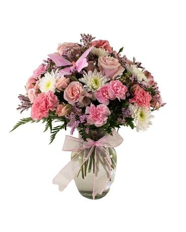 Make Me Blush Flower Arrangement
