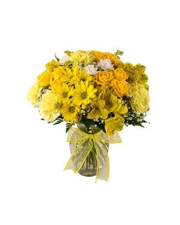 Sunny Day Bouquet Flower Arrangement