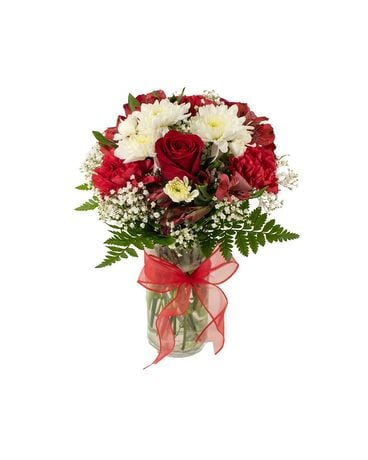 Red Dynamite Flower Arrangement