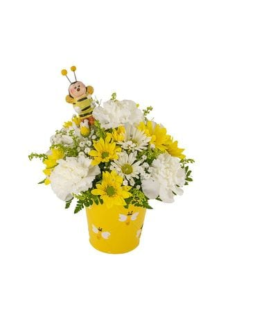 Sweet As Can Bee Flower Arrangement