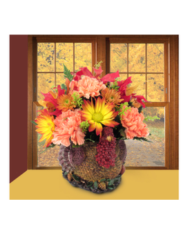 Turkey Time Flower Arrangement