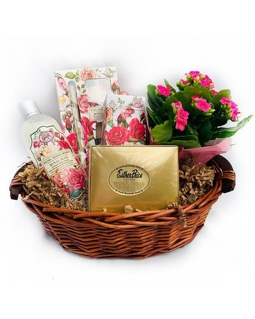 Royal Rose Gift Basket Gift Basket