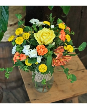Drop of Sunshine Flower Arrangement