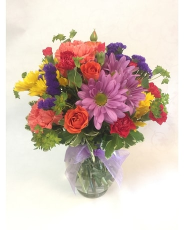 Bright Floral Wishes Flower Arrangement