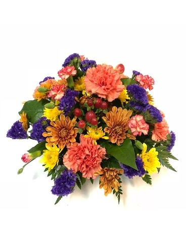 Vibrant Fall Wishes Centerpiece Centerpiece