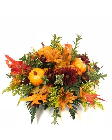 Pumpkin Patch Bouquet Flower Arrangement
