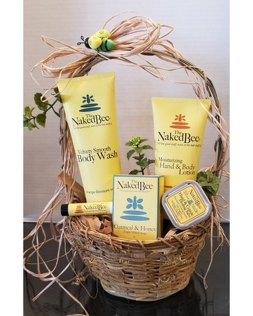 The Naked Bee Gift Basket Gift Basket