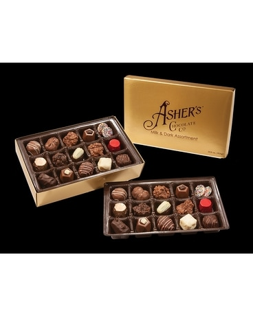 Asher's Majestic Assorted Chocolates  Lg Gift Basket